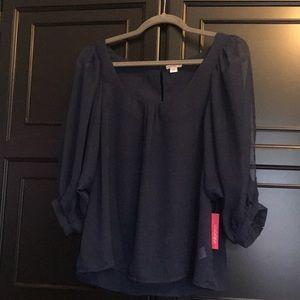 Blue Xhilaration blouse